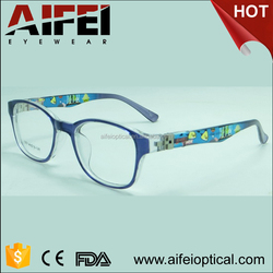 China wholesale CP injection optical eyeglasses frame with 180 degree spring hinge