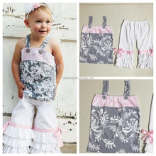 baby clothes wholesale price birthday outfit short top and tulle tutu dress outfit boutique clothing set
