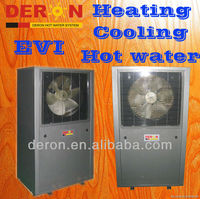 Heat Pump AIR SOURCE with EVI tech for low ambient temperature region