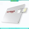 Cheap new design portable card style China 64gb usb flash