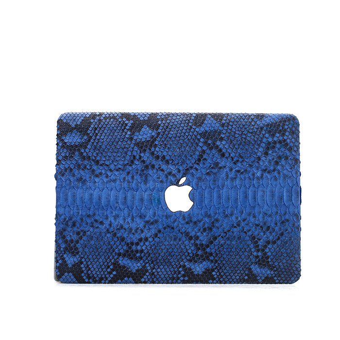 Custom python leather protective case for Macbook Air 13 laptop_6