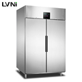 LVNI1000L upright commercial stainless steel restaurant fridge freezer