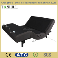 Bedroom electric furniture beds adjustable with massage