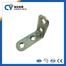 furniture bed L shaped slotted angle iron metal wall hanging Galvanized support bracket flat Corner Brace
