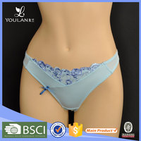 China manufacturer direct sell high quality sexy mature underwear models women thongs