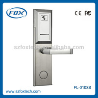 Factory directly custom made stainless steel luxurious top and bottom door locks