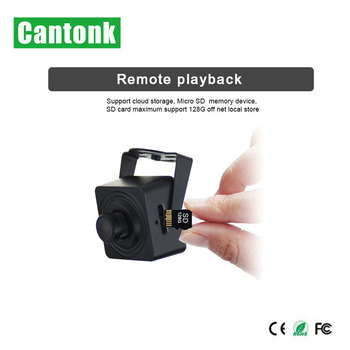 Cantonk OEM Micro Surveillance Camera Module With POE WiFi Functions