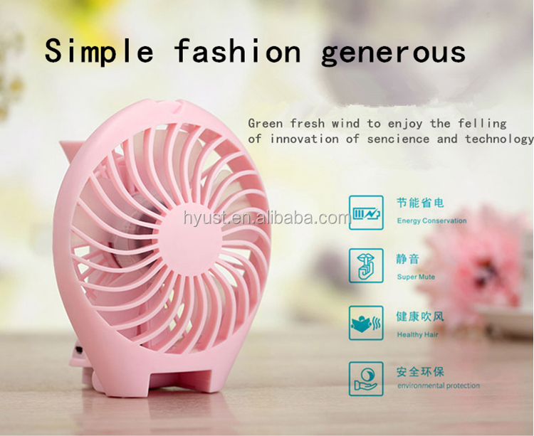 Factory Price Hot Selling Little Mermaid 5v Dc Battery Power Portable Usb Mini Fan