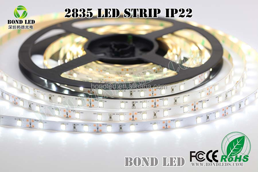 RGB Available LED Strip DC12V 60 Leds 12W 6mm SMD 2835 S Shape Led Strip Alibaba