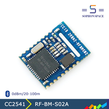 UART interfacre Bluetooth Smart low energy 4.0 RF-BM-S02A bluetooth module cc2541