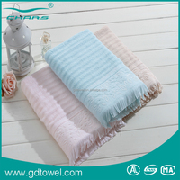 Home Style Novel And Unique Designs Cotton Terry Cloth Bath Towel