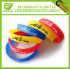 Hot Sell Filled Color Silicone Wristband