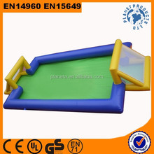 Outdoor Durable Water Proof Inflatable Water Football Pitch