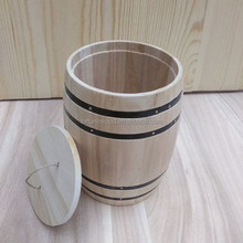 Little mini barrel for coffee bean packaging