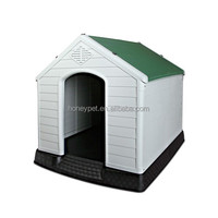 Kennel Dog House Weatherproof Plastic Extra Large Green