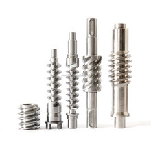 High Precision Customized Design Steel Worm Gear Shaft