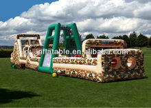 inflatables assaut course, challenge boot camp inflatable obstacle course