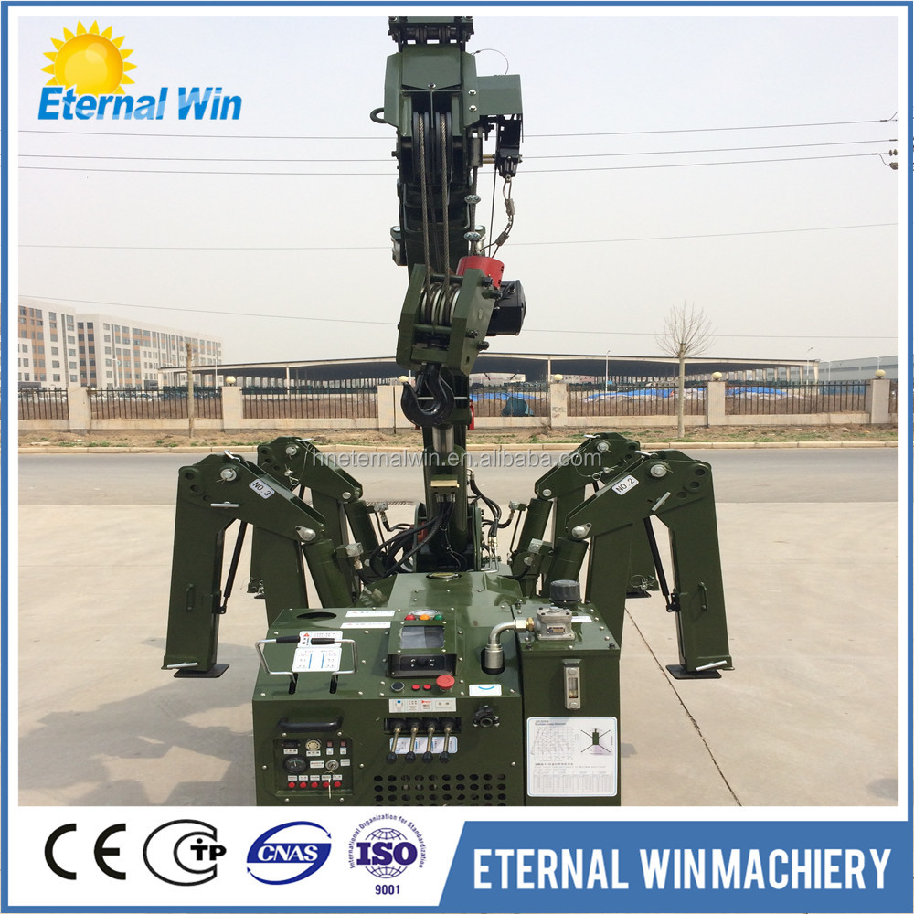 Lowest temperature explosion-proof mini spider crawler crane with highest technical quality