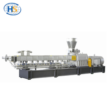 Hot Melt PET Plastic Twin Screw Extruder Extrusion Machine