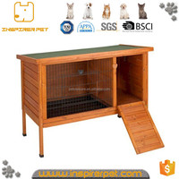 Wooden Rabbit Hutch House Feature Packed Rabbit Wood Cage