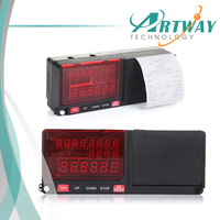 Factory Supply Smart Taximeter with printer LCD LED Display All in one Taxi fare meter build in GPS GPRS taxi dispatch System