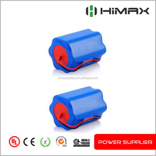 Rechargeable lithium inr 24v 10ah li-ion battery pack with bms