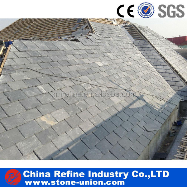 China black slate roofing tile