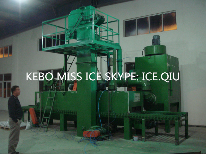 KBSB full automatic stone usage shot blasting machine