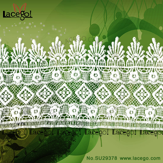 New Fashion Guipure Lace Textile Decoration Religious Lace For Garment