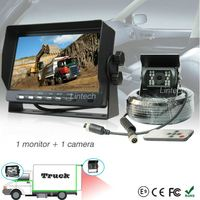 7 inch TFT solid car front and rear camera for municipal sweeper