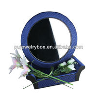 New design elegant craft packaging box with Cosmetic mirror