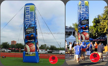 Custom giant 30 H 'Inflatable Advertising Logo tube towers
