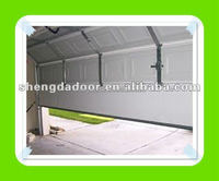 New design folding up sectional garage door made in china