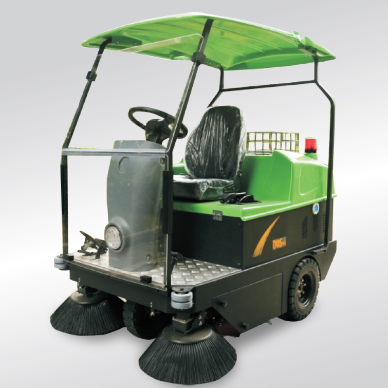 Rechargeable electric sweeper vehicle DQS14/DQS14A