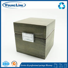 glass+flannel mysterious green gem jewelry box for home decoration