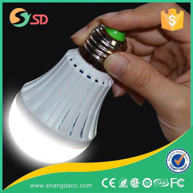 Shangda LED light Emergency lamp 5W with controller new generation LED bulb save electricity King