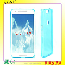 Full Clear Transparent TPU Cover For Flexible TPU Case for Huawei NEXUS 6(2015/)6P