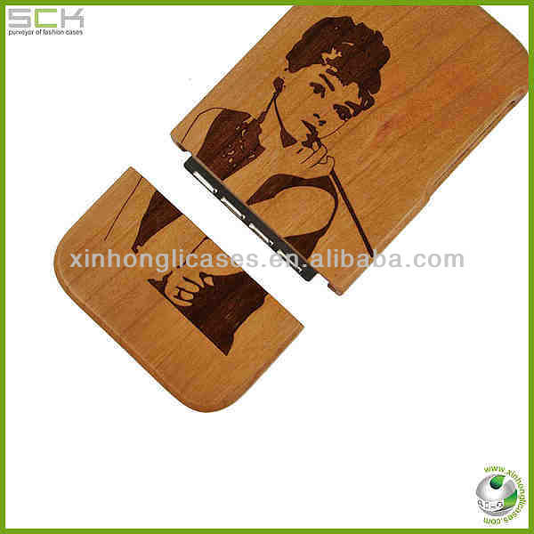 High quality for iphone 5 wood case
