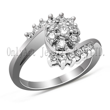 fashion jewelry ring high end design 925 sterling silver wedding ring