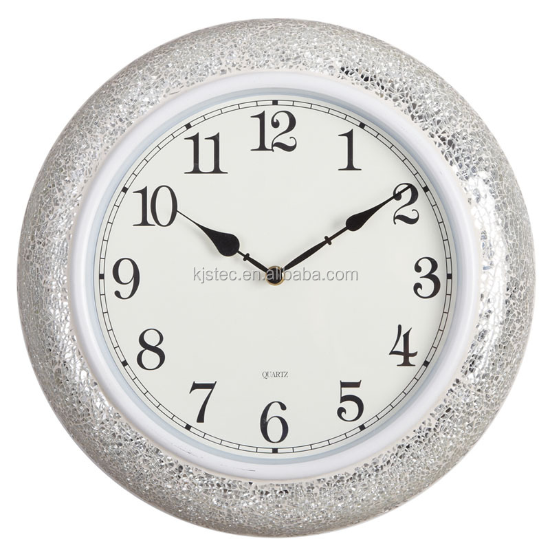quartz clock movements different shape sun shaped wall clock