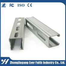 Stainless Steel Unistrut Wholesale Galvanized C Channel Properties