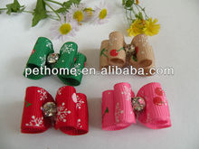 pet accessory dog bows yiwu product DB-0009