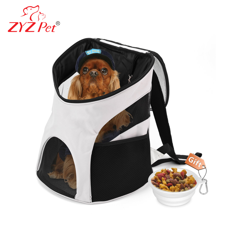 Animal fashion travel mesh bag pet backpack carrier for cats outdoor use