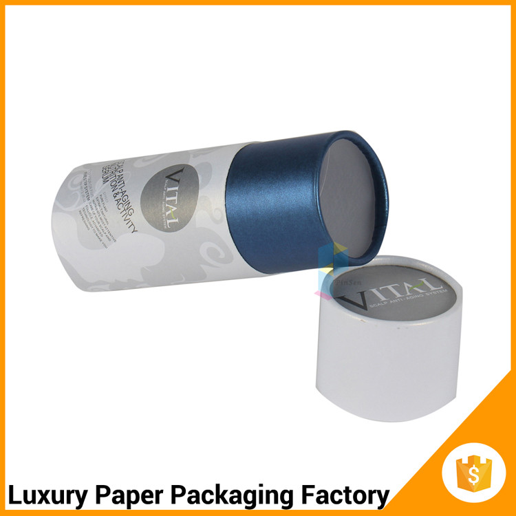 rigid cylindrical paper tubes box packaging for perfume