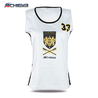 Cheap wholesale girls sexy Plus size custom sublimation sport netball uniforms skirts dresses jersey kit with netball