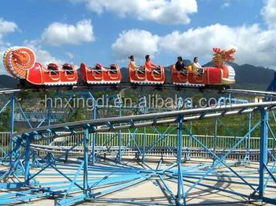 Giant playground equipments small Roller Coaster for Sale