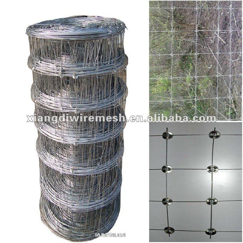 galvanized steel deer fence (factory)