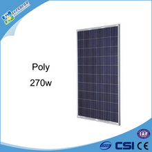 High efficiency solar cell home industrial manufacture in China solar panel 270w