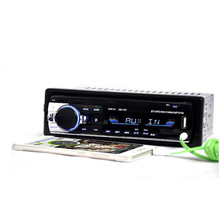 Autoradio Autoradio 24 v Bluetooth V2.0 JSD520 Auto Stereo In-dash 1 Din FM Aux Ingang Ontvanger SD USB MP3 MMC WMA 12 pin Connector