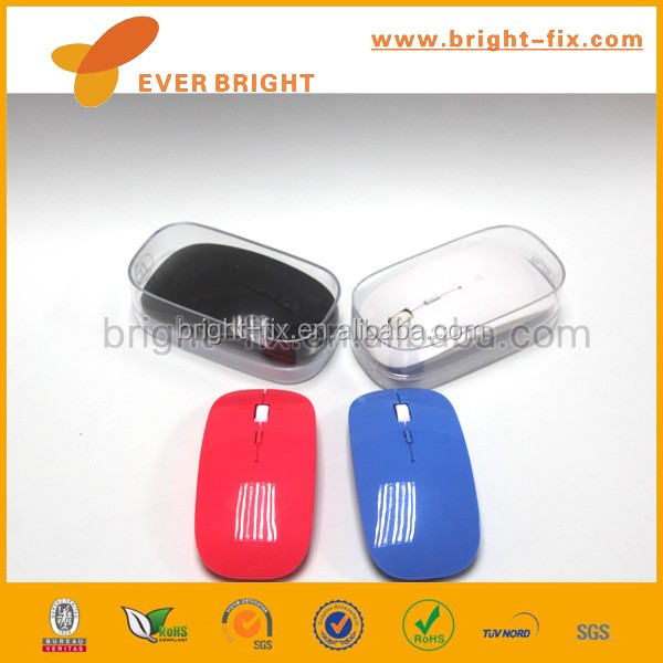 colorful and Easy to use 2.4g wireless mouse for house use for lady